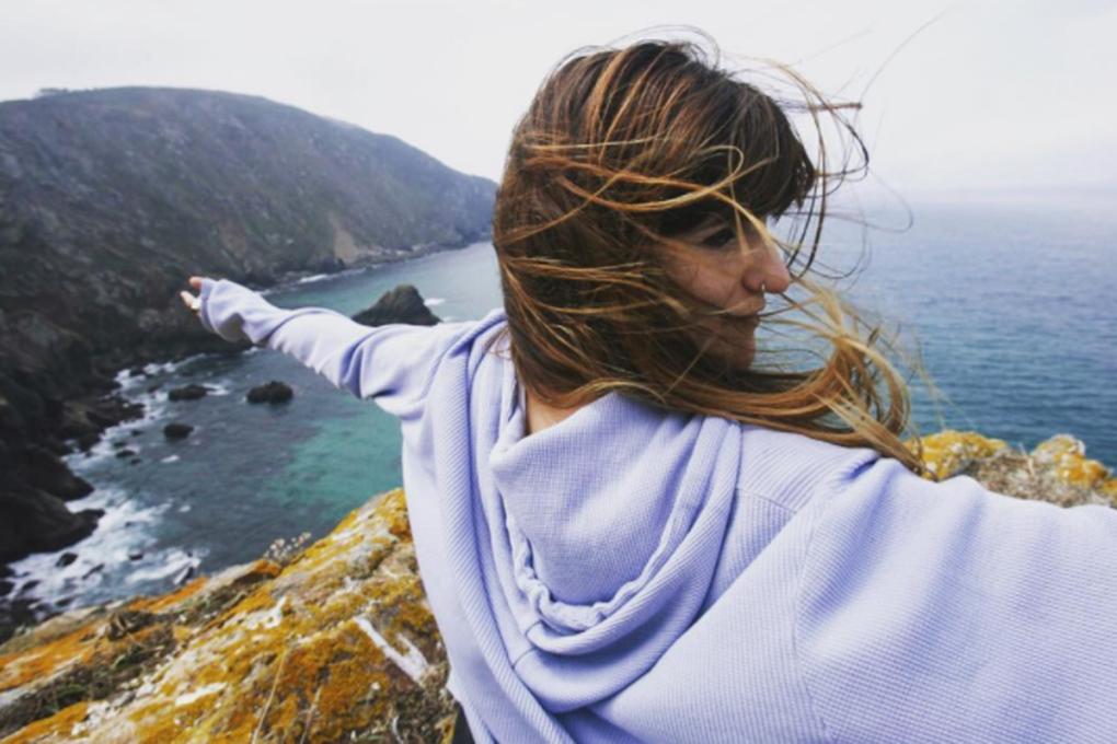 A Rozalén le encanta Galicia. Foto: Facebook.