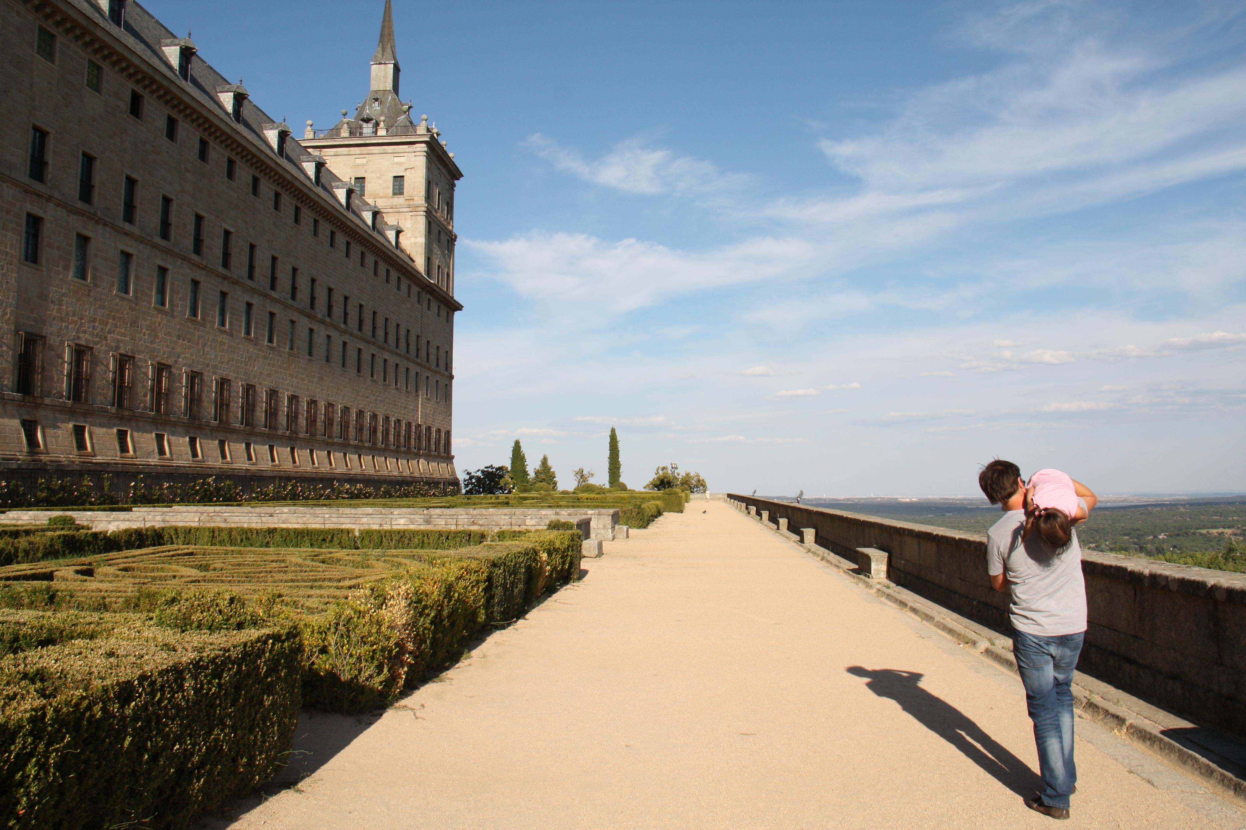 La Silla de Felipe II en El Escorial   Guía Repsol