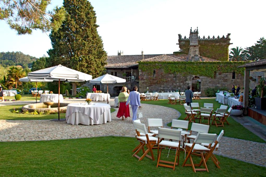 Preparativo de una boda en Pazo da Touza. Foto: Pazo da Touza.