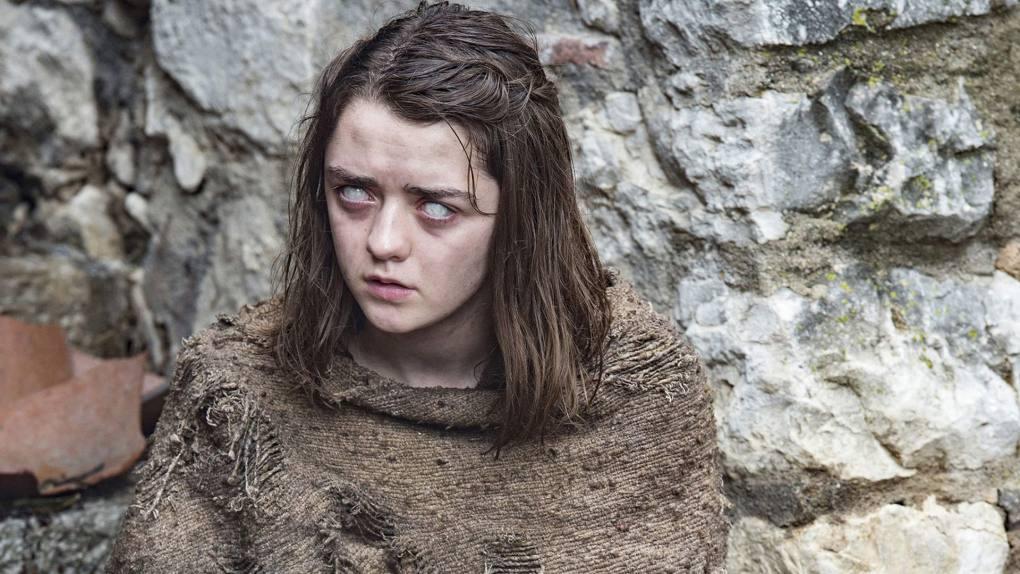 Arya Stark, siempre pasando penas. Foto: D.R.