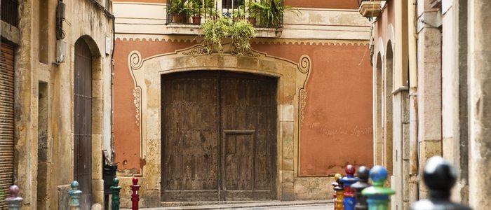Casco viejo de Tarragona.