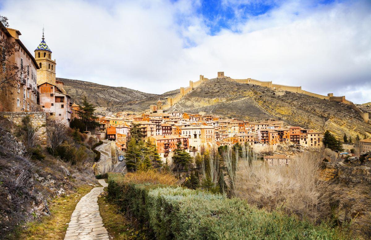 Albarracín en pleno otoño. Foto: shutterstock