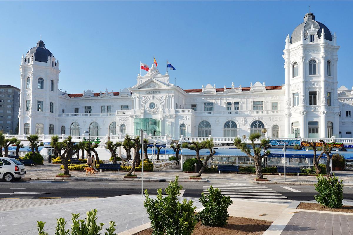 Gran Casino del Sardinero. Foto: Manuel Álvarez.