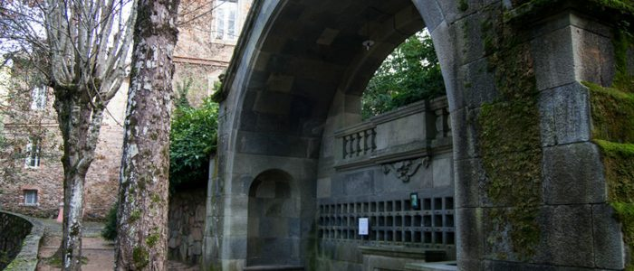 Antiguo balneario de font Picant, Viladrau. / Creative Commons. Flickr Victor Asensio