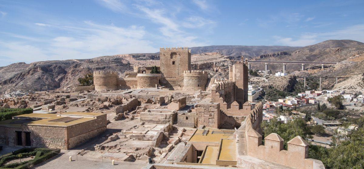 Vistas de La Almedina desde La Alcazaba de Almería.