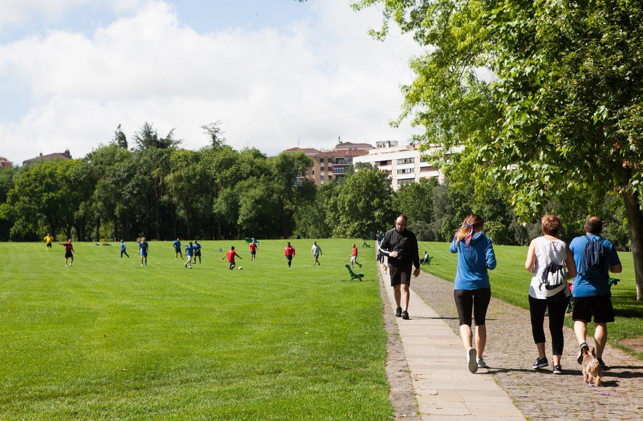 Pamplona - Parque de la Ciudadela (jardín)