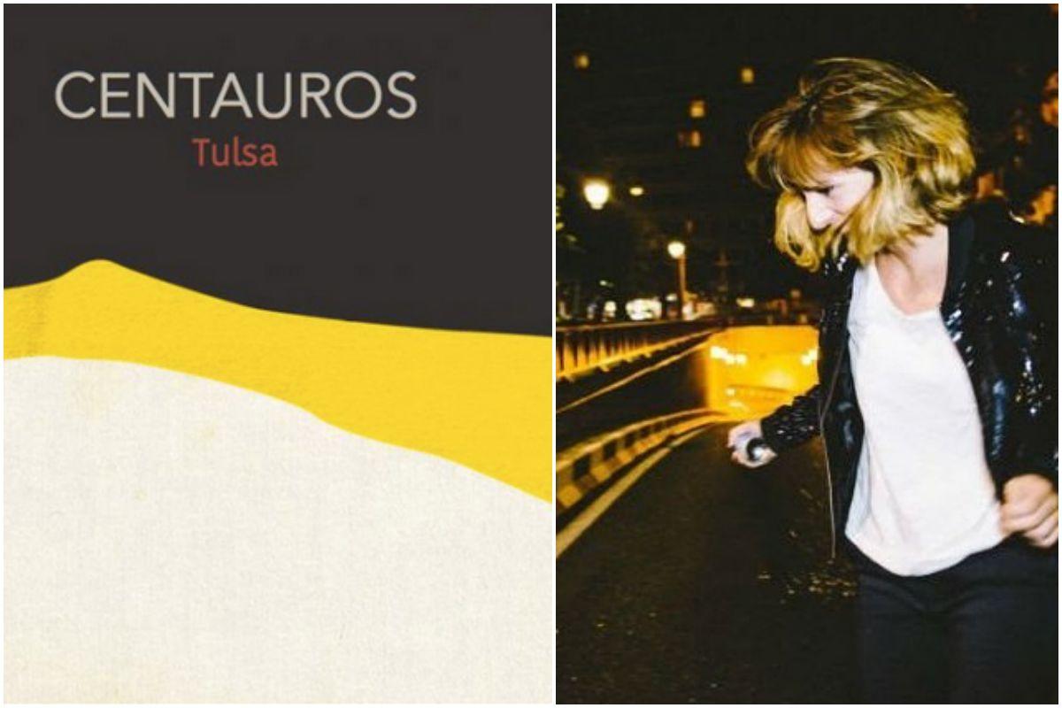 Portada del disco Centauros, de Tulsa, y una foto de la artisa. Fotos: Facebook.