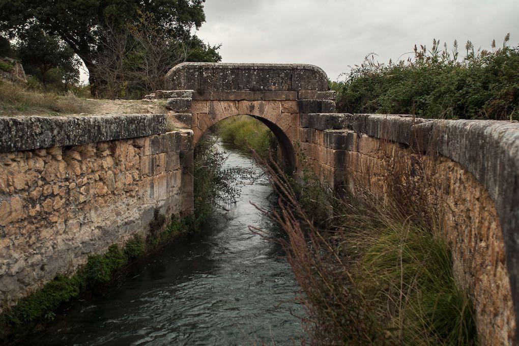El canal del Gran Prior es la obra más antigua sobre el Guadiana.