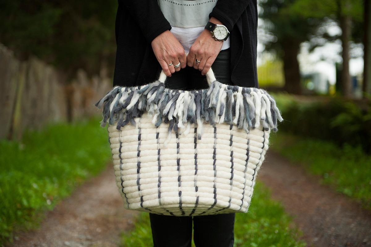 Idoia Cuesta ha revolucionado el arte de la cestería. Foto: Idoia Cuesta