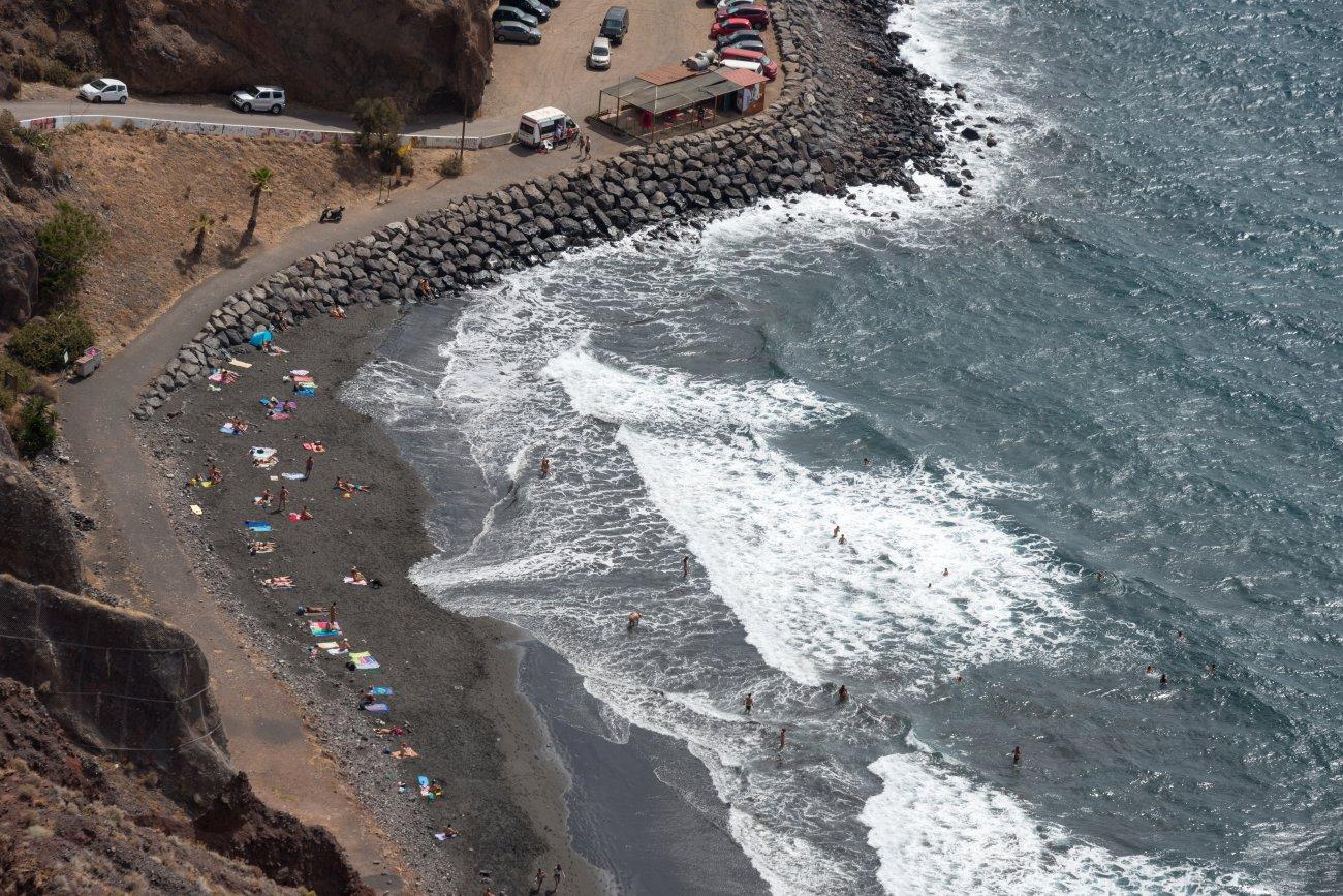 'Kiosco Kraken' (Playa de Las Gaviotas): playa