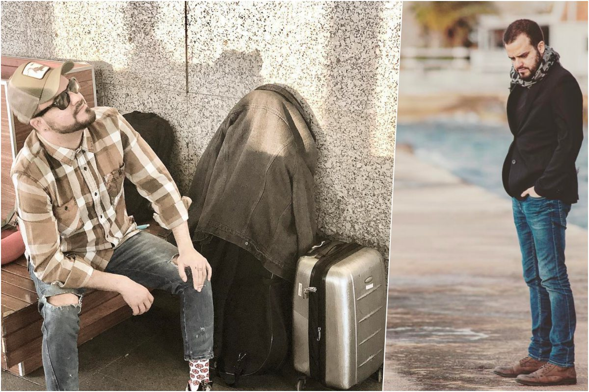 Siempre con las maletas listas para el próximo viaje. Foto: Instagram