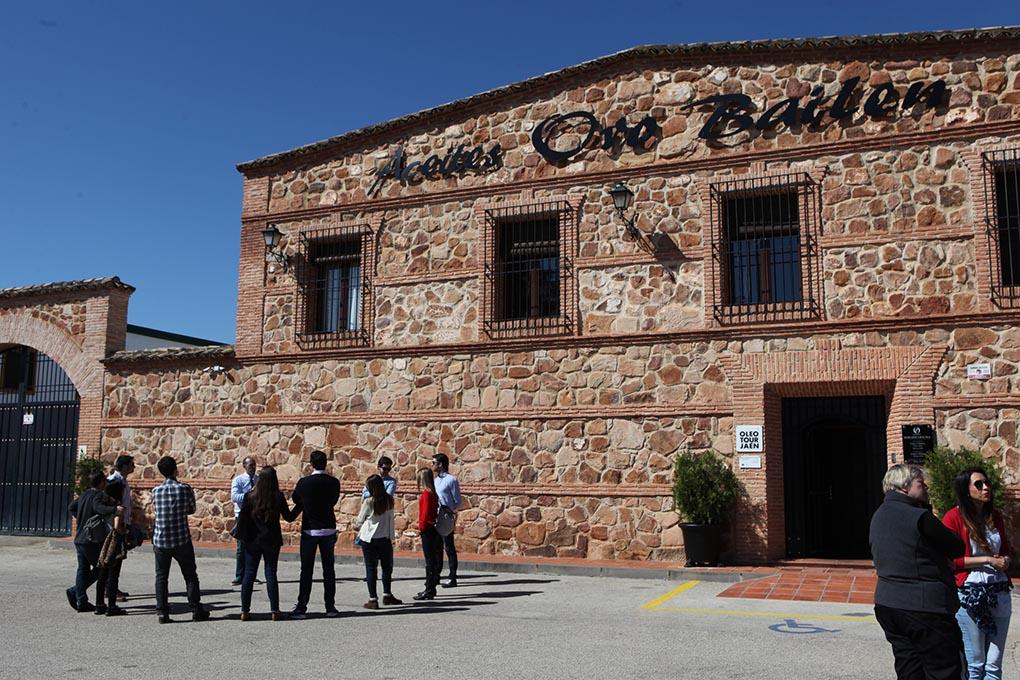 Al año visitan esta almazara una media de 2.000 turistas. Foto cedida.
