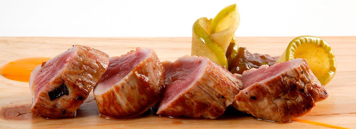 Los platos de Lurrina vuelven loco al chef del Restaurante Mina. Foto: Lurrina