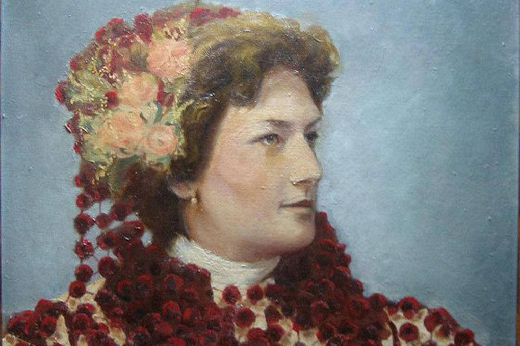 Retrato de la Marquesa de Parabere. Foto: Marquesa de Parabere. Facebook.