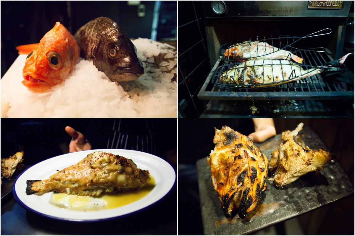 Restaurante Bistronomika: pescados