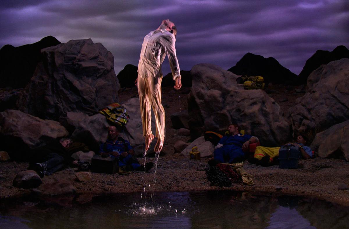 Primera luz (First Light), 2002, de Bill Viola. (Imagen cedida por el Museo)