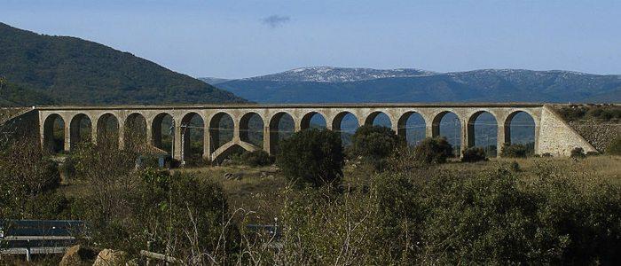 Puente de Taboada en Lozoya.