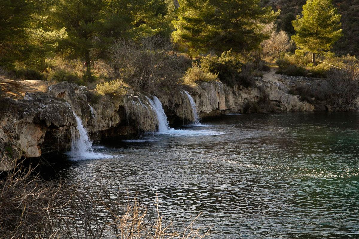 Torrentera de la laguna Lengua sobre la Salvadora, en Albacete. | Manuel Ruiz Toribio.