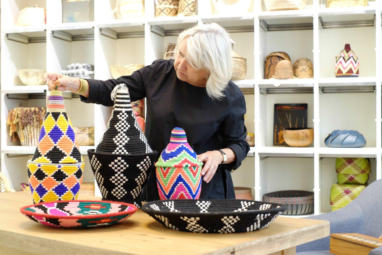 Cesta República: cestas de la colección 'Guercif' (Marruecos)