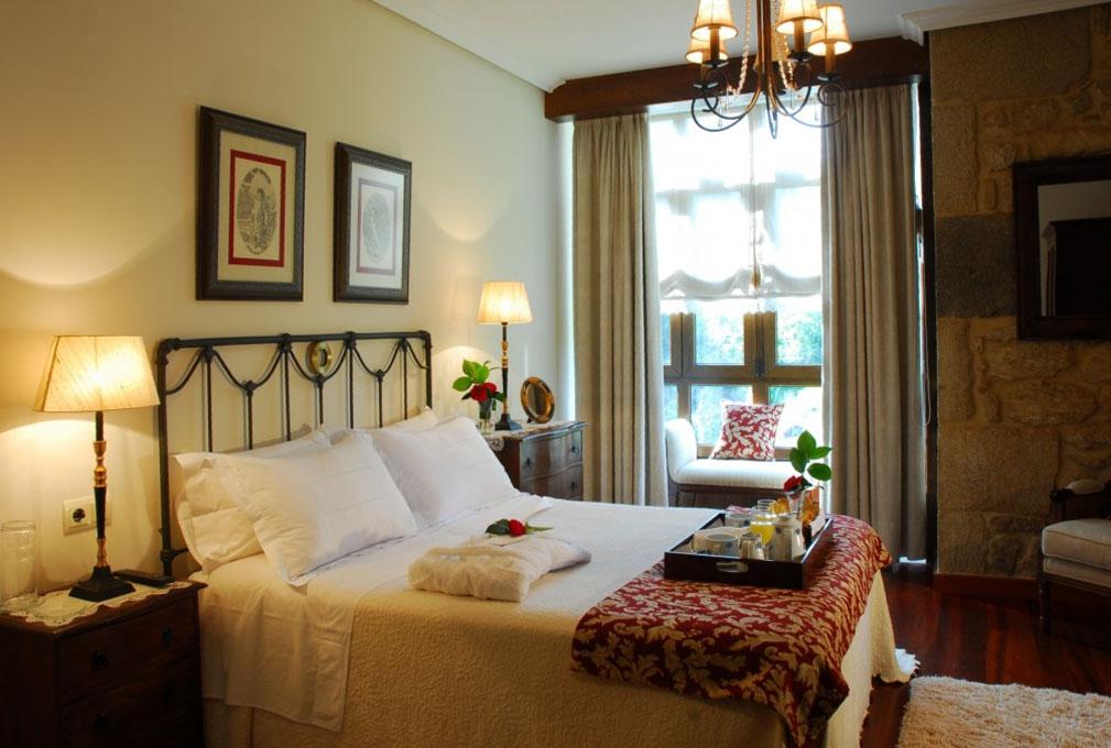 Un hotel bucólico para disfrutar en pareja. Foto: Torre do Río