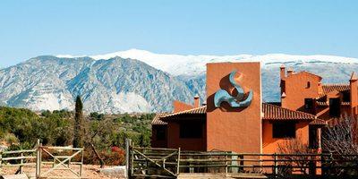 Hacienda Señorío de Nevada. Exterior.