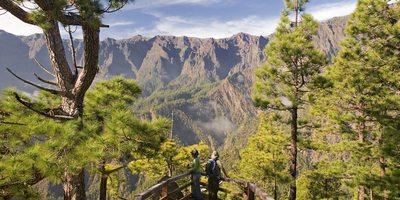 Mirador La Cumbrecita, La Palma. Foto de: Saúl Santos. Cedida por: Patronato de Turismo de La Palma.