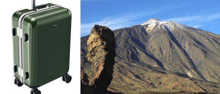La maleta grande es ideal para viajes en los que realizamos actividades de tipología muy diferente.
