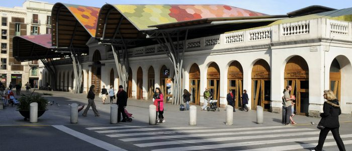 Mercado Santa Caterina, Barcelona.