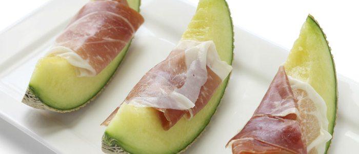 Además de como postre, el melón de Villaconejos es ideal para comerlo con jamón.