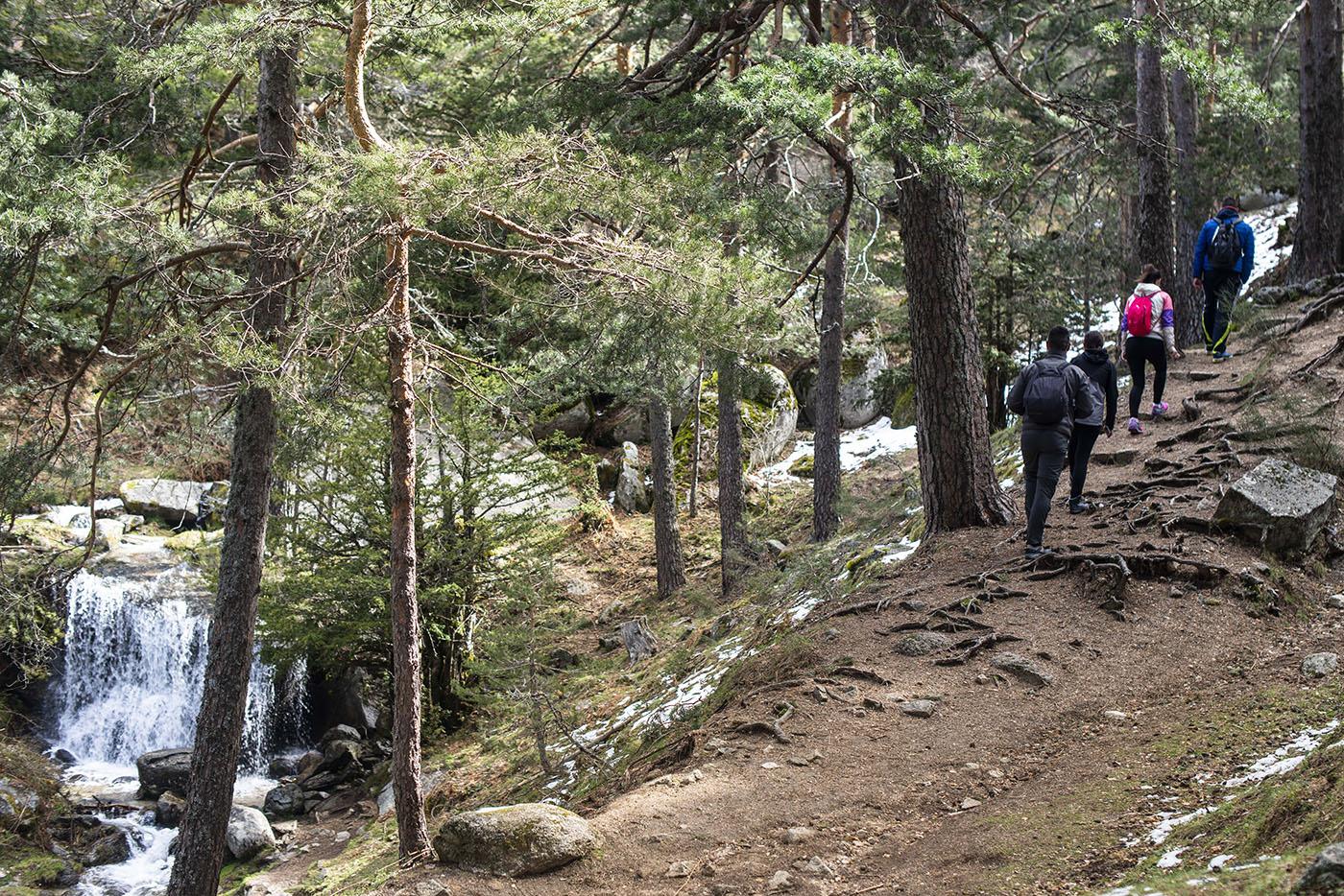 Cascadas de Sierra de Guadarrama: La Ducha de los Alemanes