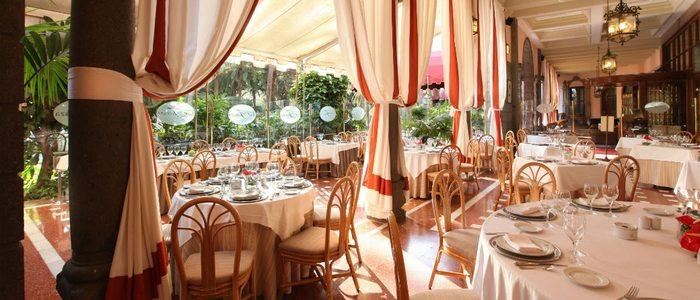 Restaurante del Hotel Santa Catalina.