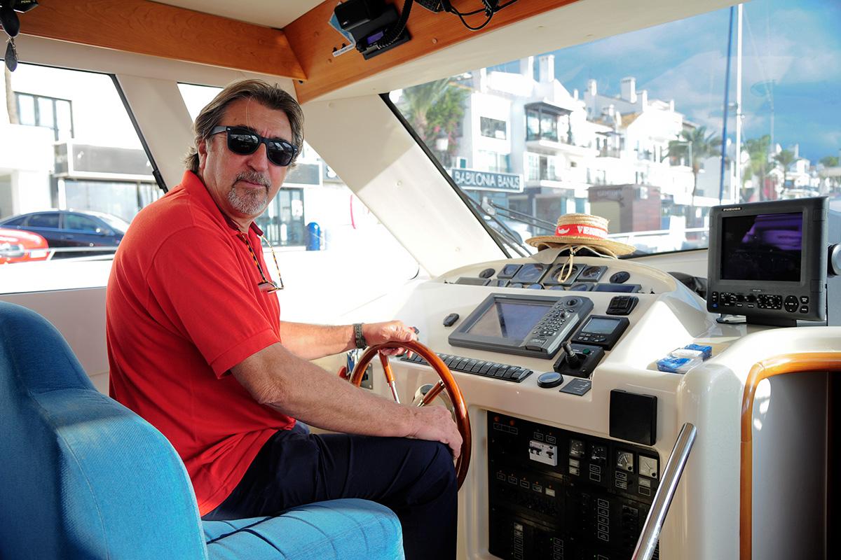 Pedro Antonio Moral, patrón del barco Red Tide.