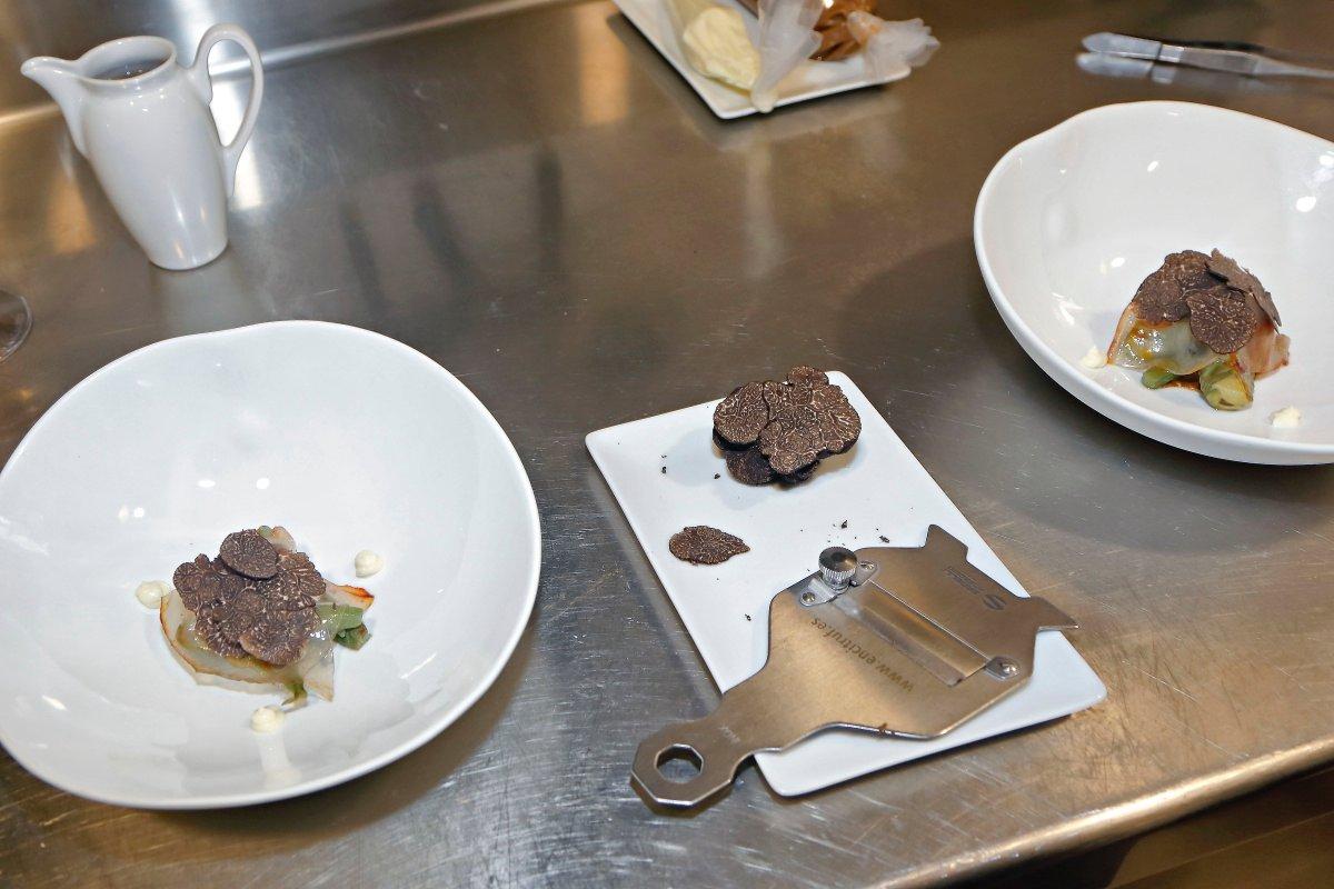 La trufa negra soriana cobra todo el protagonismo en el menú de invierno.