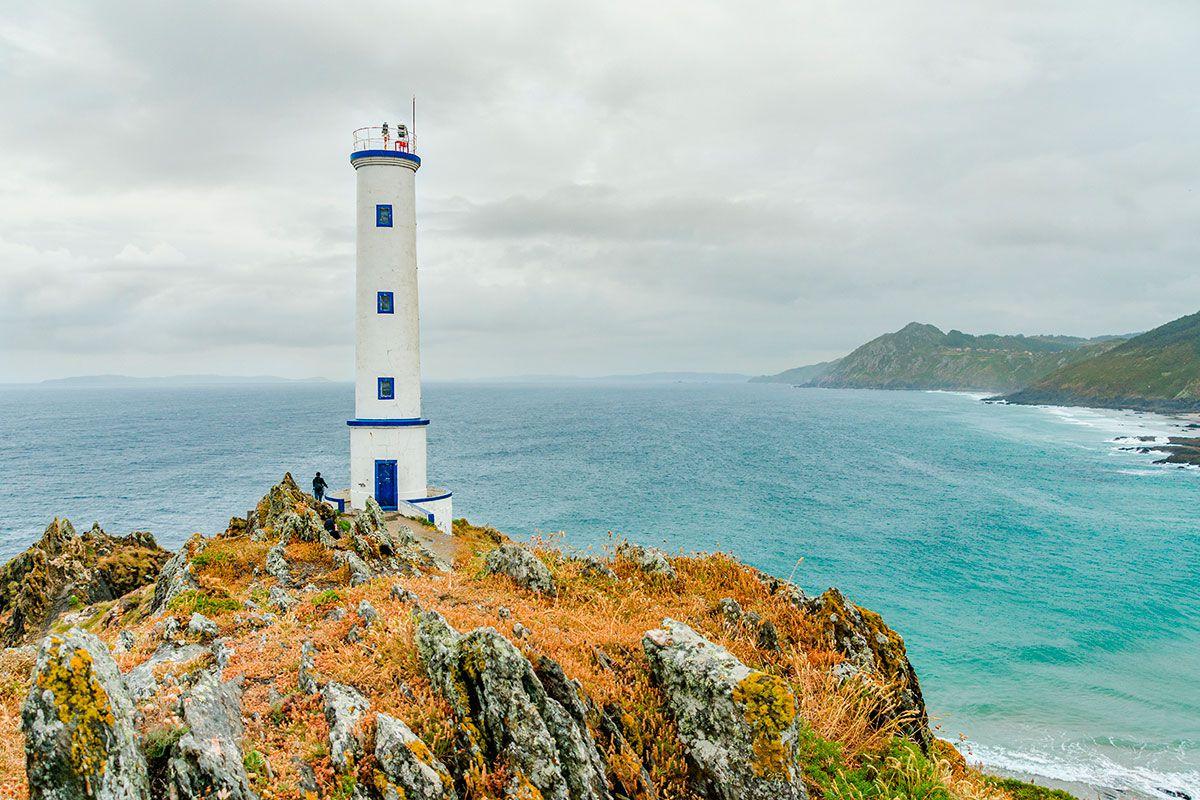 Rías Baixas: Faro de Cabo Home. Foto: Shutterstock