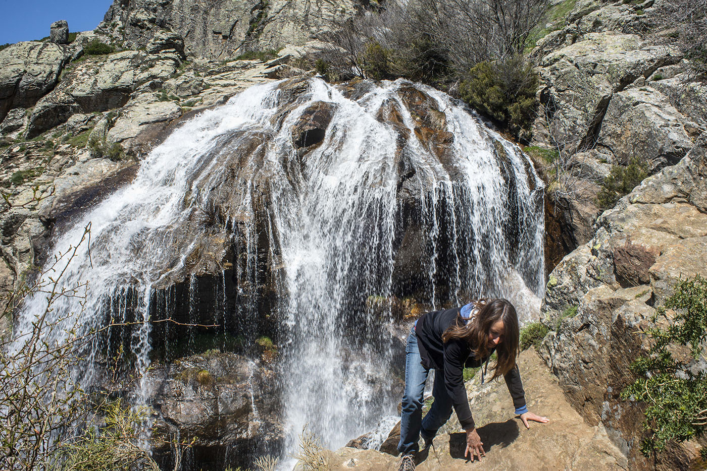 Cascadas de Sierra de Guadarrama: Los Litueros