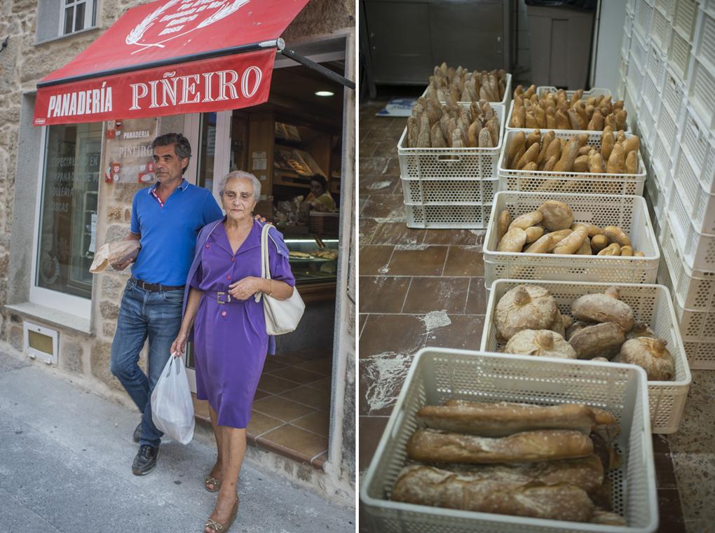 Los clientes encantados con su pan crujiente y tierno, pensando en qué salsa lo van a mojar.