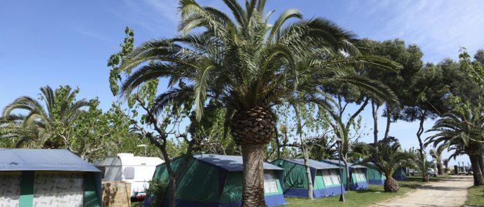 Las caravanas permiten disfrutar del camping casi durante todo el año.