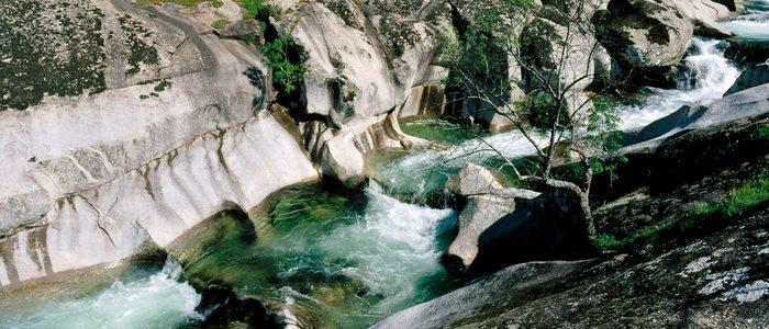 Los Pilones, en la Reserva Natural de la Garganta de los Infiernos.