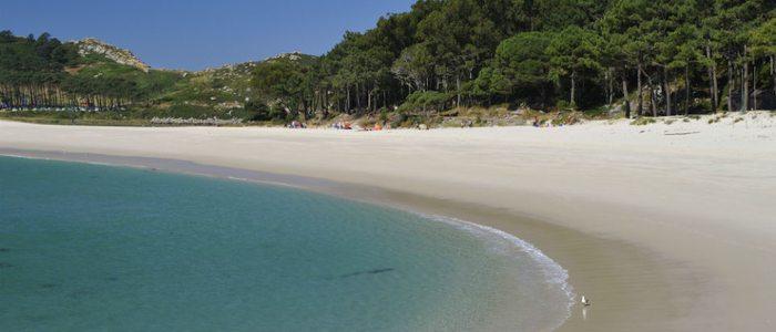 Playa de Rodas, islas Cíes.