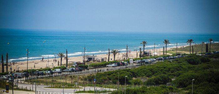 Playa del Prat. / Cedida por: Ayuntamiento de El Prat de Llobregat.