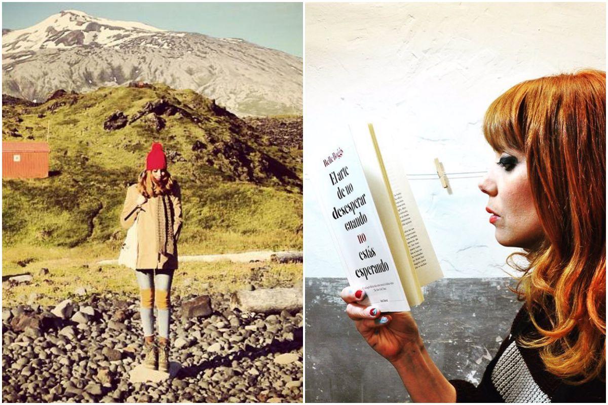 Sus viajes son toda una inspiración en sus obras. Fotos: Instagram.