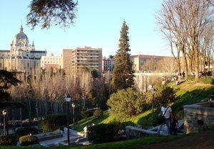 Jardines de las Vistillas. / CC Flickr Maymonides.