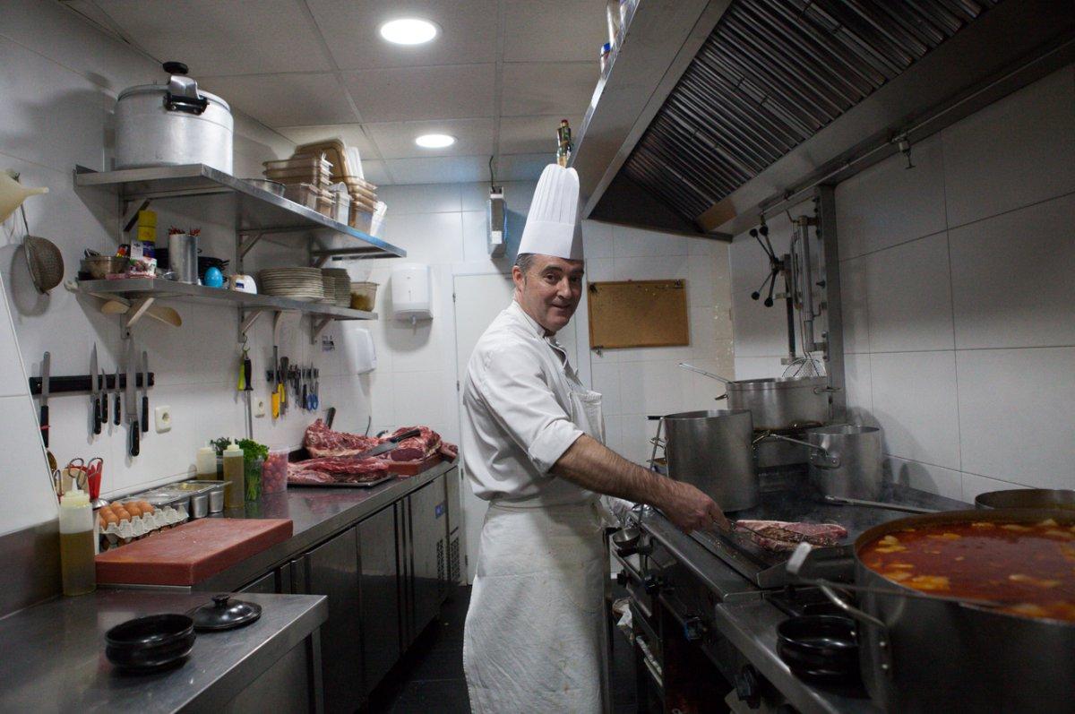Pedro Sanz, el chef de 'El Pilón', que estuvo años trabajando en el hotel de 'El Paular'.