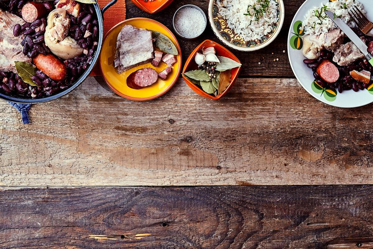 Con arroz, frijoles y carnes, ¡maravilla! Foto: Shutterstock.