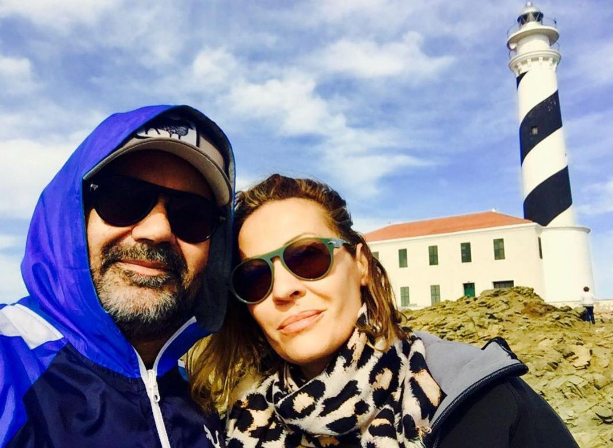 Menorca se ha convertido para él en un segundo hogar ya que su pareja es natural de la isla. Foto: Instagram.