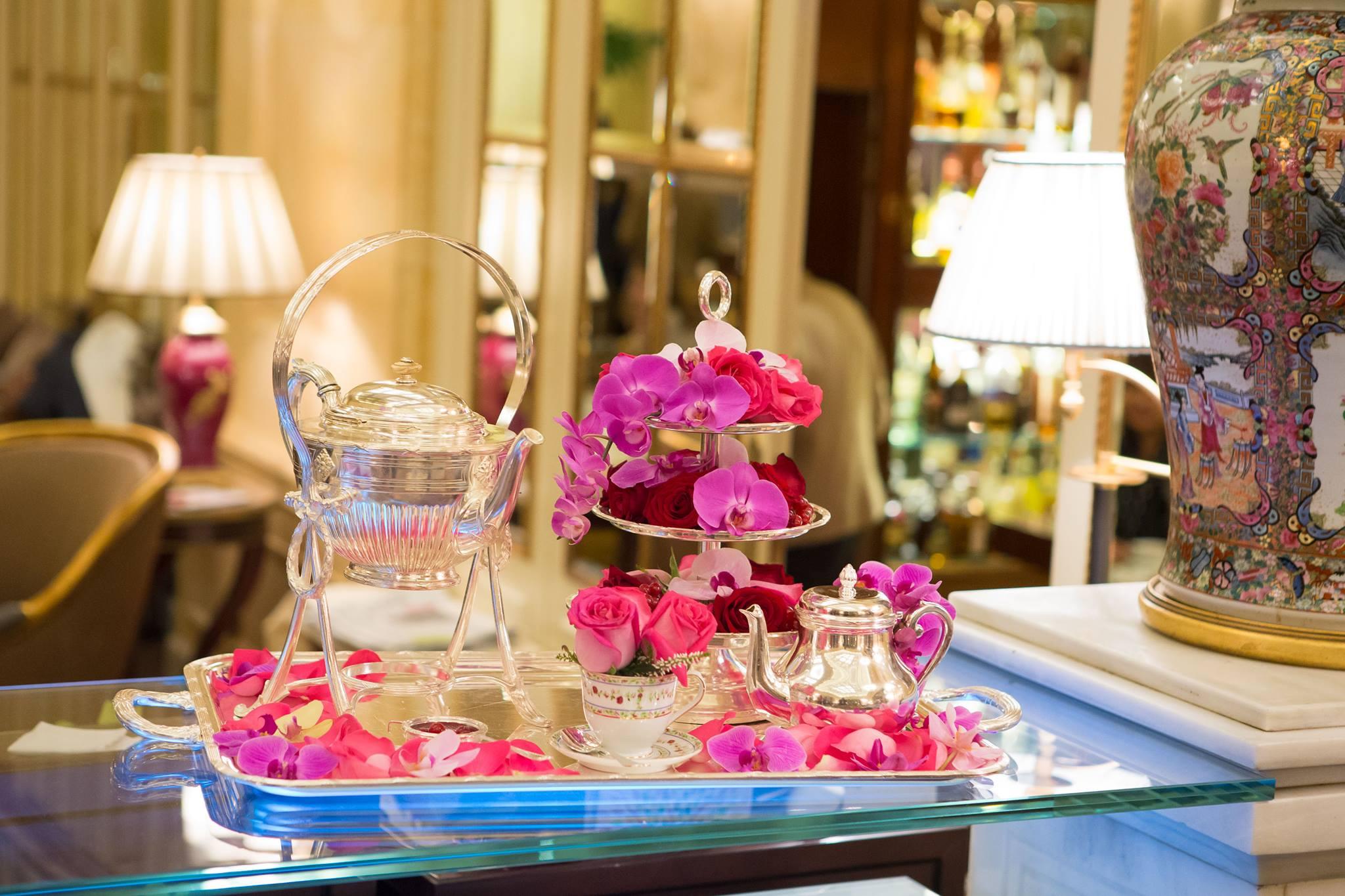 La hora del té es sagrada en el Ritz. Foto: Hotel Ritz.