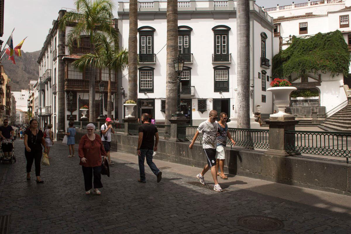 Plaza de España, en Santa Cruz de La Palma.
