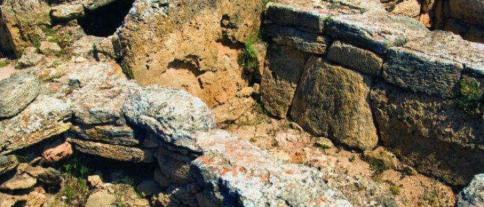 Excavaciones arqueológicas cerca de Can Picafort.