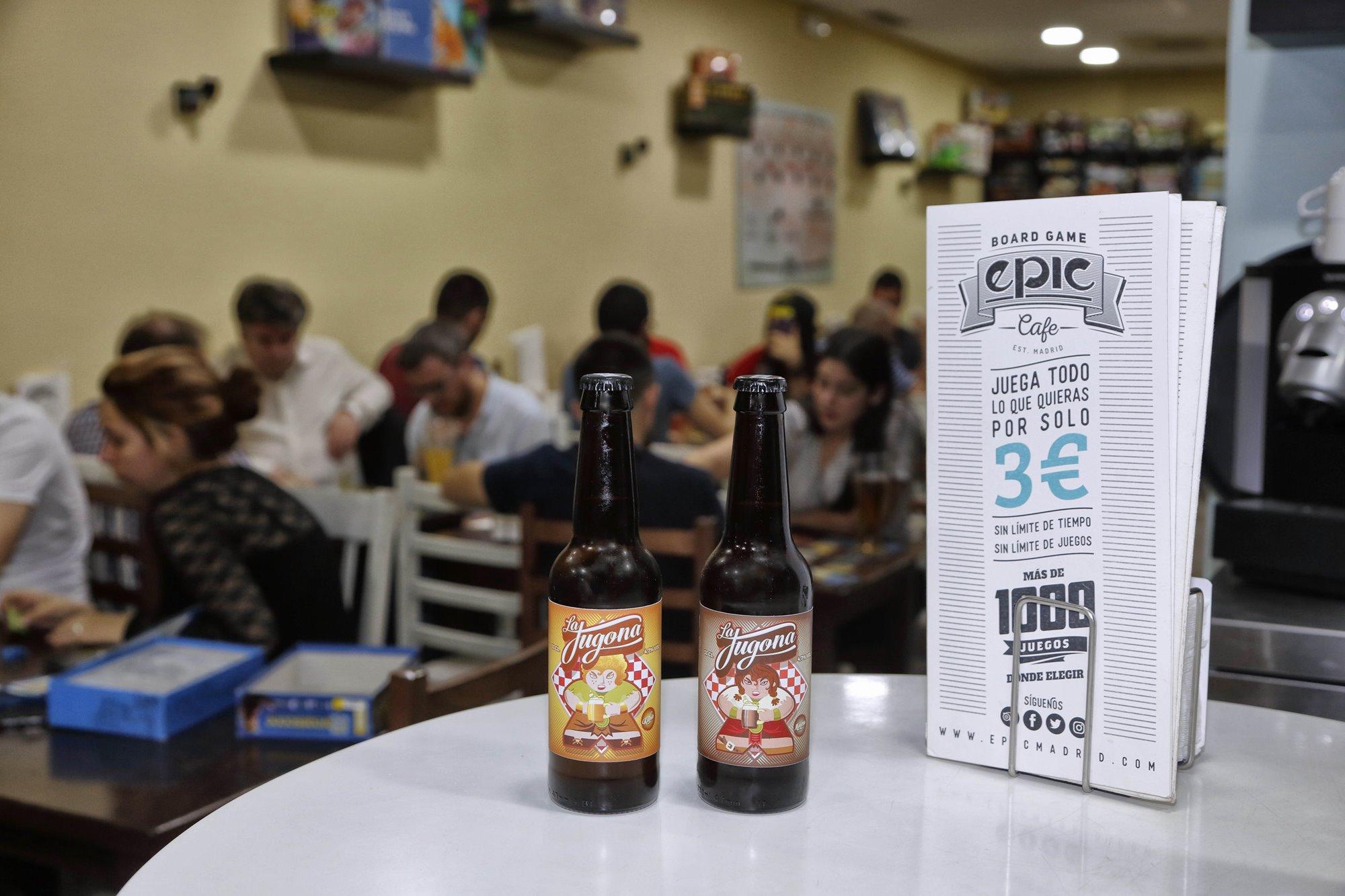 En el 'Epic' tienen su propia marca de cerveza artesanal.