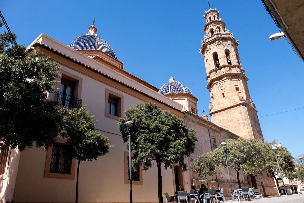 La ermita del pueblo Nuestra Señora de la Asunción empezó a construirse en el s.XVIII.